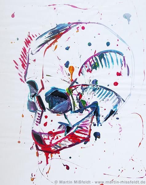 action-painting-totenkopf