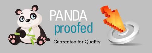 Seo Klitsche vergibt Panda-Prüfsiegel